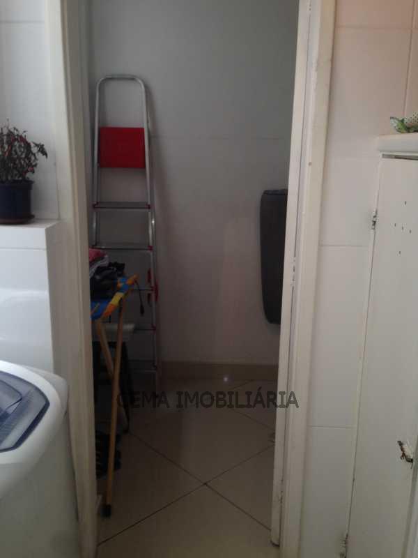 area ang 2 - Apartamento 2 quartos à venda Leblon, Zona Sul RJ - R$ 1.649.000 - LAAP20736 - 12