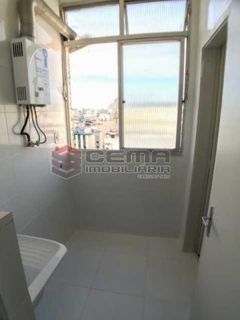área de serviço - Apartamento À Venda - Catete - Rio de Janeiro - RJ - LAAP20790 - 16