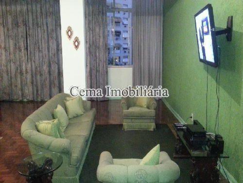SALA - Apartamento 3 Quartos À Venda Laranjeiras, Zona Sul RJ - R$ 1.140.000 - LA32947 - 4