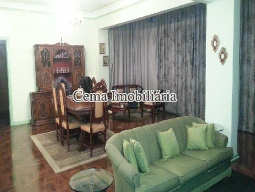 SALA  ANG. 1 - Apartamento 3 Quartos À Venda Laranjeiras, Zona Sul RJ - R$ 1.140.000 - LA32947 - 3