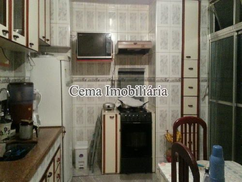 COZINHA  ANG. 1 - Apartamento 3 Quartos À Venda Laranjeiras, Zona Sul RJ - R$ 1.140.000 - LA32947 - 18