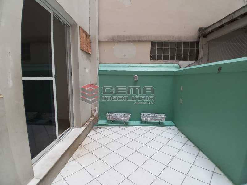 área externa - Apartamento 3 quartos à venda Flamengo, Zona Sul RJ - R$ 990.000 - LA33005 - 4