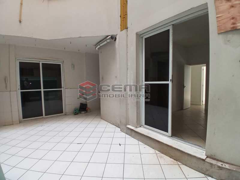 área externa - Apartamento 3 quartos à venda Flamengo, Zona Sul RJ - R$ 990.000 - LA33005 - 5