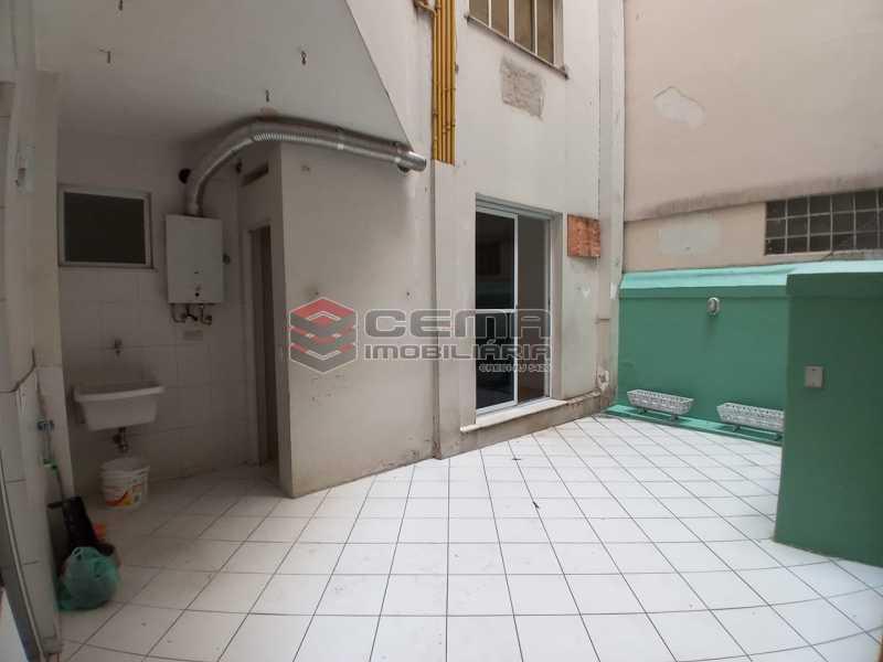 área externa - Apartamento 3 quartos à venda Flamengo, Zona Sul RJ - R$ 990.000 - LA33005 - 6