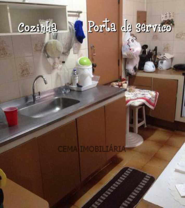 Cozinha - Apartamento À Venda - Leme - Rio de Janeiro - RJ - LAAP30685 - 5