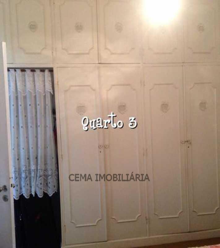 Quarto - Apartamento À Venda - Leme - Rio de Janeiro - RJ - LAAP30685 - 9