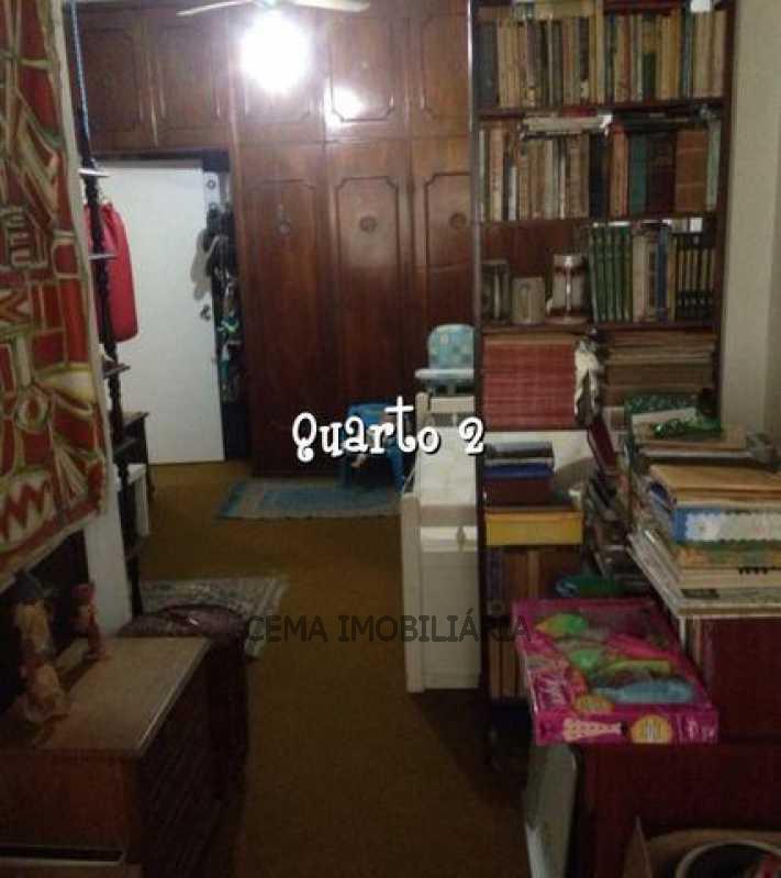 Quarto - Apartamento À Venda - Leme - Rio de Janeiro - RJ - LAAP30685 - 17