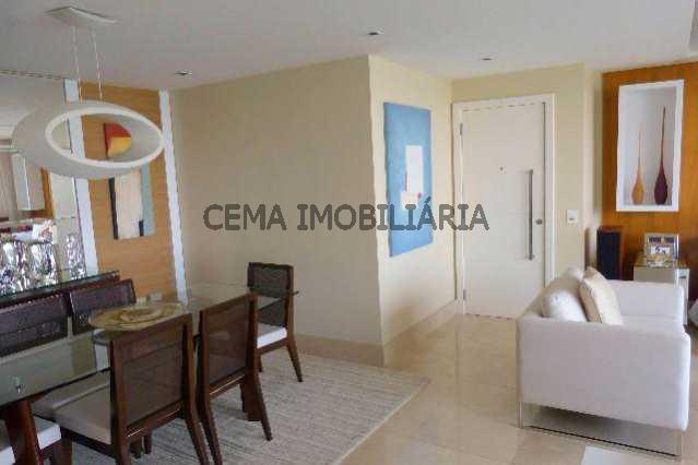 sala 3 - Apartamento À Venda - Lagoa - Rio de Janeiro - RJ - LAAP40128 - 11