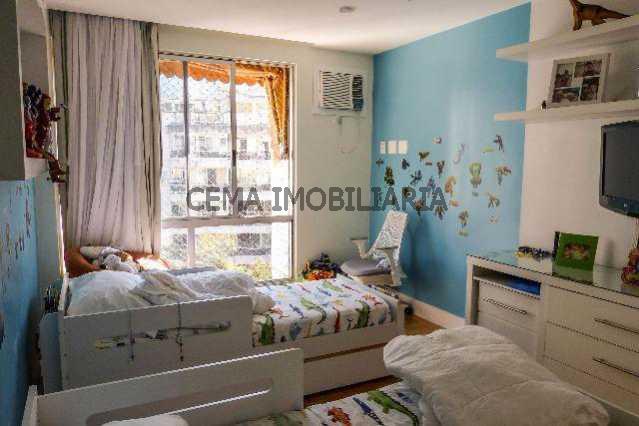 quarto - Apartamento À Venda - Lagoa - Rio de Janeiro - RJ - LAAP40128 - 16