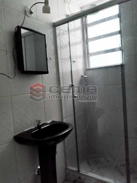Banheiro  - Apartamento 1 quarto para alugar Flamengo, Zona Sul RJ - R$ 1.800 - LAAP10532 - 13