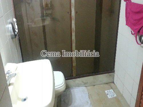 BANHEIRO SOCIAL  ANG. 1 - Apartamento À Venda - Botafogo - Rio de Janeiro - RJ - LA33190 - 10