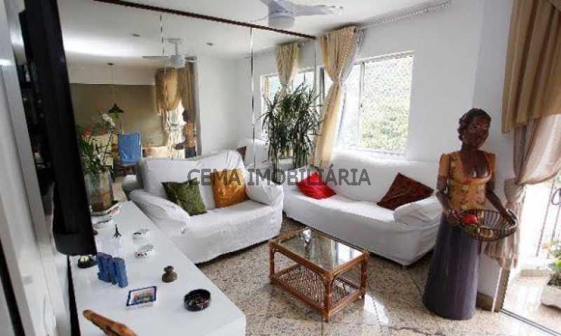 sala - Cobertura à venda Rua Dona Mariana,Botafogo, Zona Sul RJ - R$ 1.639.000 - LACO30064 - 6