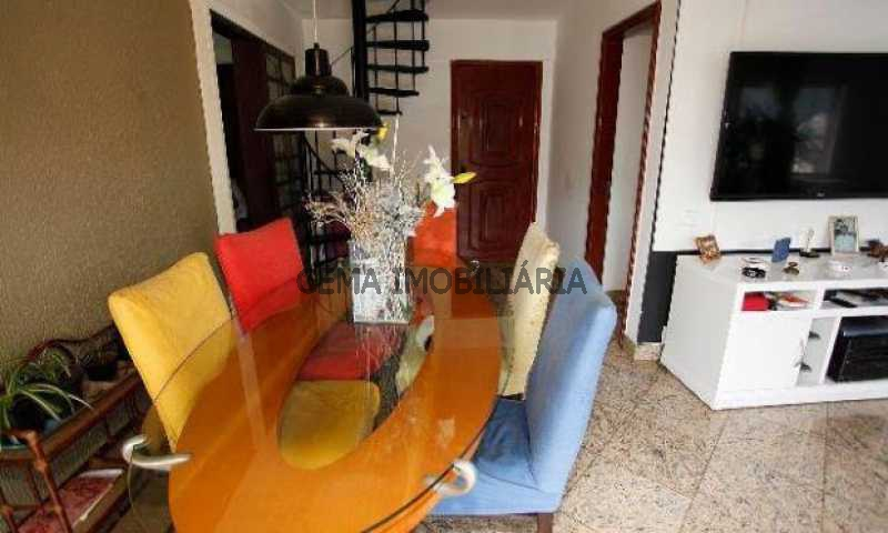 sala - Cobertura à venda Rua Dona Mariana,Botafogo, Zona Sul RJ - R$ 1.639.000 - LACO30064 - 7