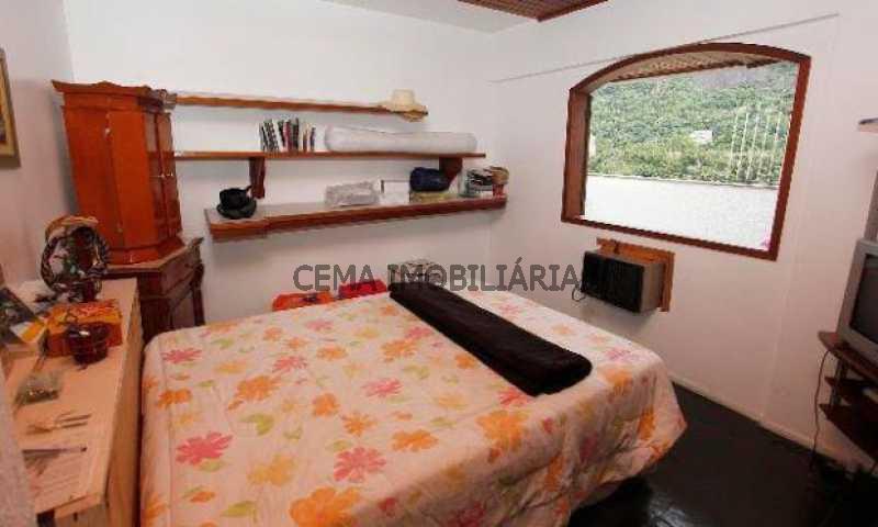 quarto - Cobertura à venda Rua Dona Mariana,Botafogo, Zona Sul RJ - R$ 1.639.000 - LACO30064 - 10