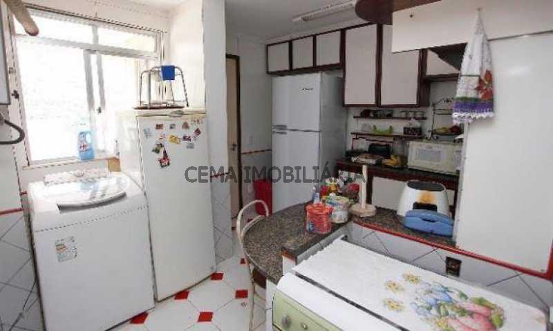 cozinha - Cobertura à venda Rua Dona Mariana,Botafogo, Zona Sul RJ - R$ 1.639.000 - LACO30064 - 12