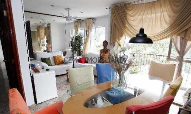 sala - Cobertura à venda Rua Dona Mariana,Botafogo, Zona Sul RJ - R$ 1.639.000 - LACO30064 - 14