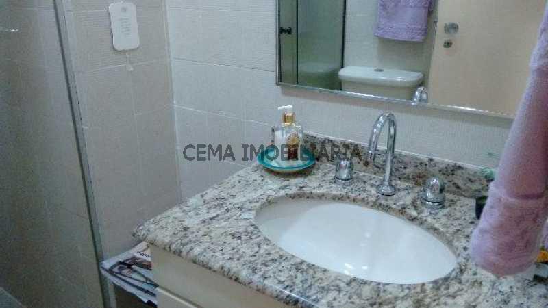banheiro social - Apartamento 2 quartos à venda Cosme Velho, Zona Sul RJ - R$ 1.080.000 - LAAP20956 - 12