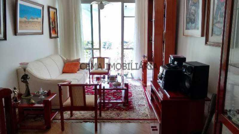 sala 2 - Apartamento 2 quartos à venda Cosme Velho, Zona Sul RJ - R$ 1.080.000 - LAAP20956 - 3