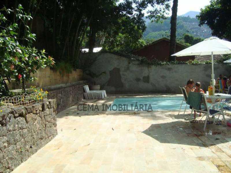 piscina - Apartamento 2 quartos à venda Cosme Velho, Zona Sul RJ - R$ 1.080.000 - LAAP20956 - 14