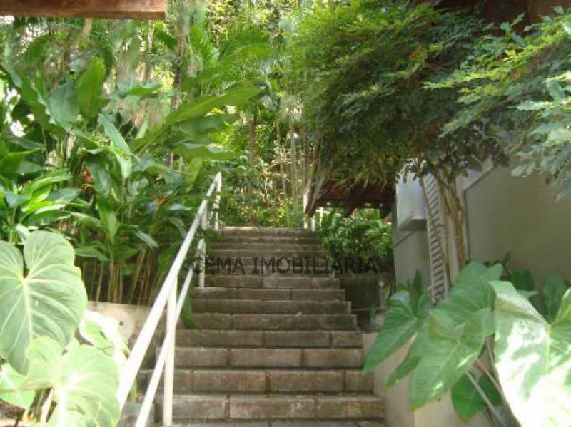 subida para churrasqueira - Apartamento 2 quartos à venda Cosme Velho, Zona Sul RJ - R$ 1.080.000 - LAAP20956 - 15