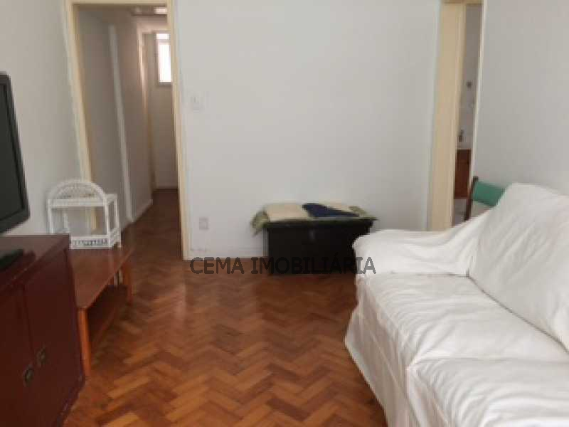 SALA - Apartamento 1 quarto à venda Leme, Zona Sul RJ - R$ 685.000 - LAAP10578 - 1