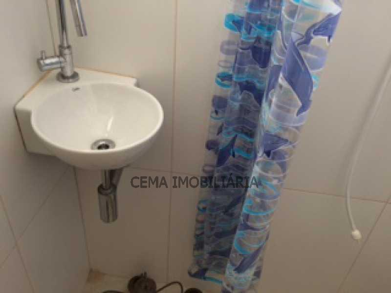 BANHEIRO DE SERVIÇO ANG 2 - Apartamento 1 quarto à venda Leme, Zona Sul RJ - R$ 685.000 - LAAP10578 - 14