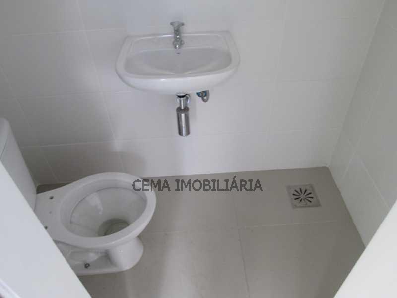 Banheiro Serviço - Apartamento 1 quarto para alugar Catete, Zona Sul RJ - R$ 2.350 - LAAP10588 - 16