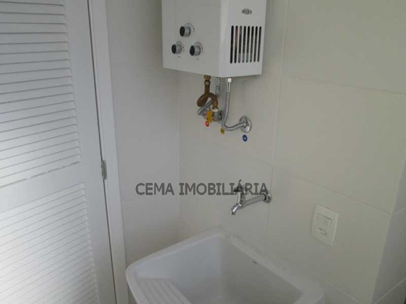 Área Serviço - Apartamento 1 quarto para alugar Catete, Zona Sul RJ - R$ 2.350 - LAAP10588 - 15
