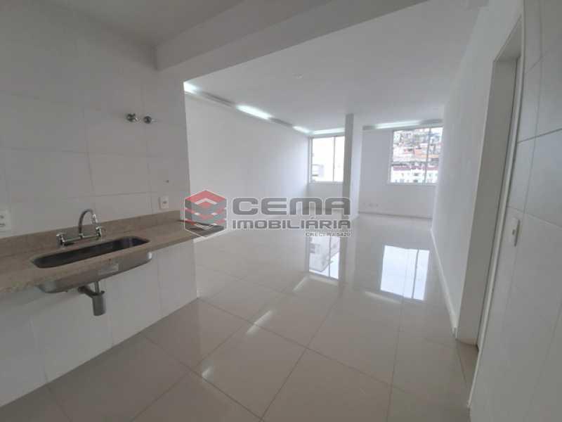Sala/cozinha - Apartamento 1 quarto para alugar Catete, Zona Sul RJ - R$ 2.350 - LAAP10588 - 3