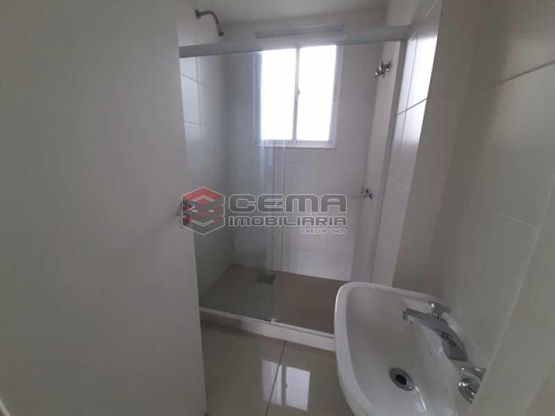 Banheiro suíte - Apartamento 1 quarto para alugar Catete, Zona Sul RJ - R$ 2.350 - LAAP10588 - 10