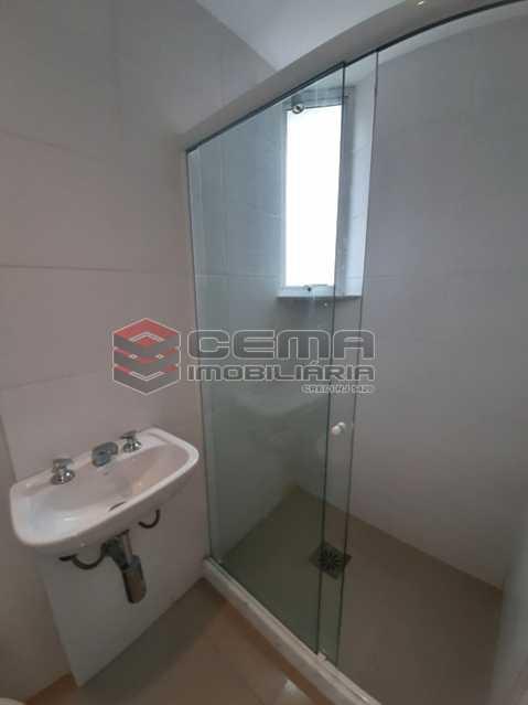 Banheiro social - Apartamento 1 quarto para alugar Catete, Zona Sul RJ - R$ 2.350 - LAAP10588 - 11
