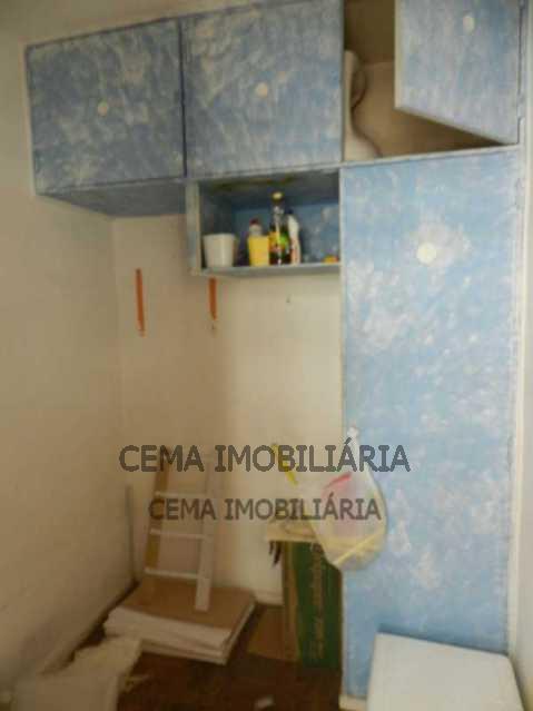 Dependência  - Apartamento 3 Quartos À Venda Leblon, Zona Sul RJ - R$ 1.580.000 - LAAP30817 - 19
