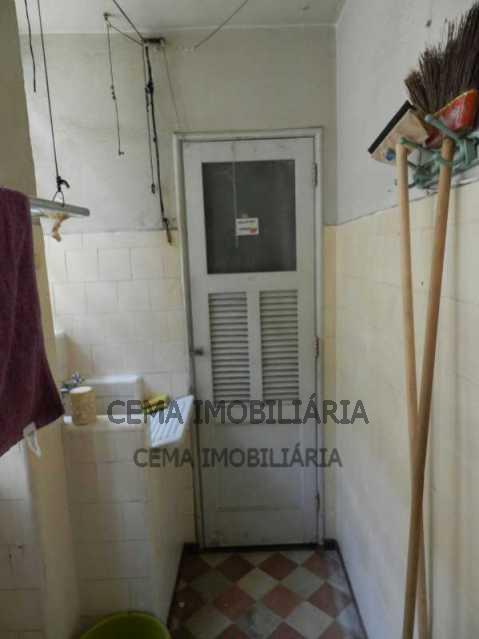 Área de serviço - Apartamento 3 Quartos À Venda Leblon, Zona Sul RJ - R$ 1.580.000 - LAAP30817 - 18