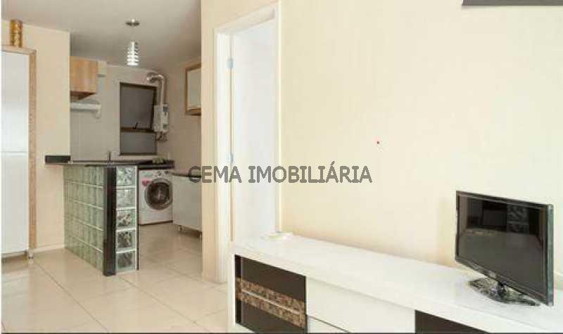 Sala/Cozinha - Apartamento à venda Rua Washington Luís,Centro RJ - R$ 350.000 - LAAP10598 - 6