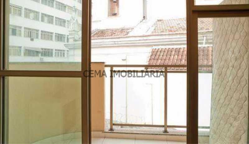 Varanda - Apartamento à venda Rua Washington Luís,Centro RJ - R$ 325.000 - LAAP10598 - 4