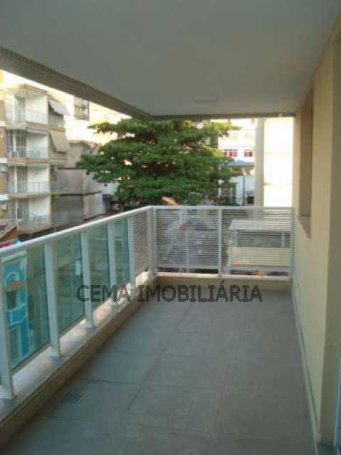 Varanda - Apartamento 3 quartos à venda Tijuca, Zona Norte RJ - R$ 1.130.000 - LAAP30841 - 5