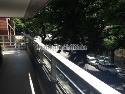 VARANDÃO - Apartamento À Venda - Botafogo - Rio de Janeiro - RJ - LA33320 - 4