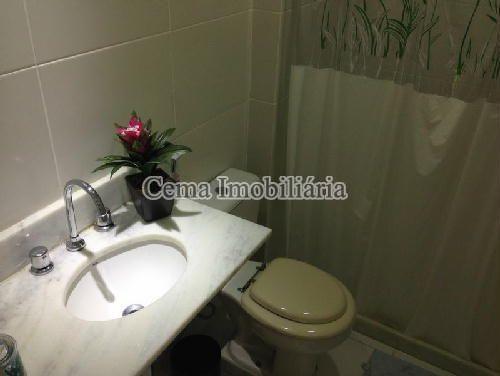 BANHEIRO SOCIAL - Apartamento À Venda - Botafogo - Rio de Janeiro - RJ - LA33320 - 8