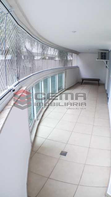 Varanda - Apartamento 2 quartos para alugar Botafogo, Zona Sul RJ - R$ 4.750 - LAAP21083 - 3