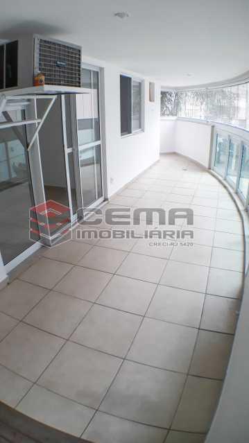 Varanda - Apartamento 2 quartos para alugar Botafogo, Zona Sul RJ - R$ 4.750 - LAAP21083 - 19