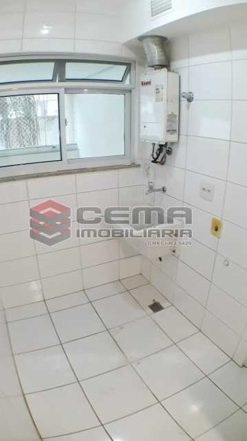 Área de Serviço - Apartamento 2 quartos para alugar Botafogo, Zona Sul RJ - R$ 4.750 - LAAP21083 - 17