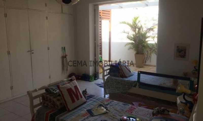 quarto 1 - Cobertura à venda Rua Belisário Távora,Laranjeiras, Zona Sul RJ - R$ 2.500.000 - LACO40030 - 10