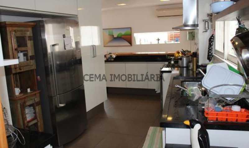 cozinha - Cobertura à venda Rua Belisário Távora,Laranjeiras, Zona Sul RJ - R$ 2.500.000 - LACO40030 - 17