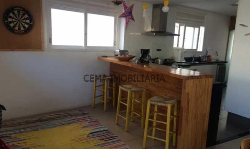 sala - Cobertura à venda Rua Belisário Távora,Laranjeiras, Zona Sul RJ - R$ 2.500.000 - LACO40030 - 6