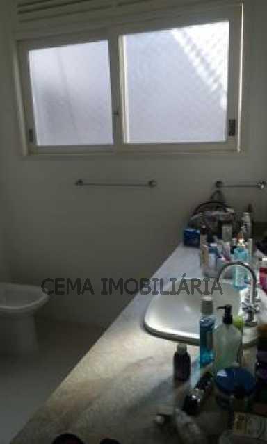 banheiro - Cobertura à venda Rua Belisário Távora,Laranjeiras, Zona Sul RJ - R$ 2.500.000 - LACO40030 - 19
