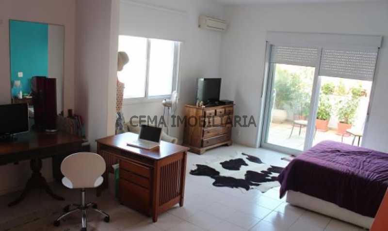 quarto 3  - Cobertura à venda Rua Belisário Távora,Laranjeiras, Zona Sul RJ - R$ 2.500.000 - LACO40030 - 14