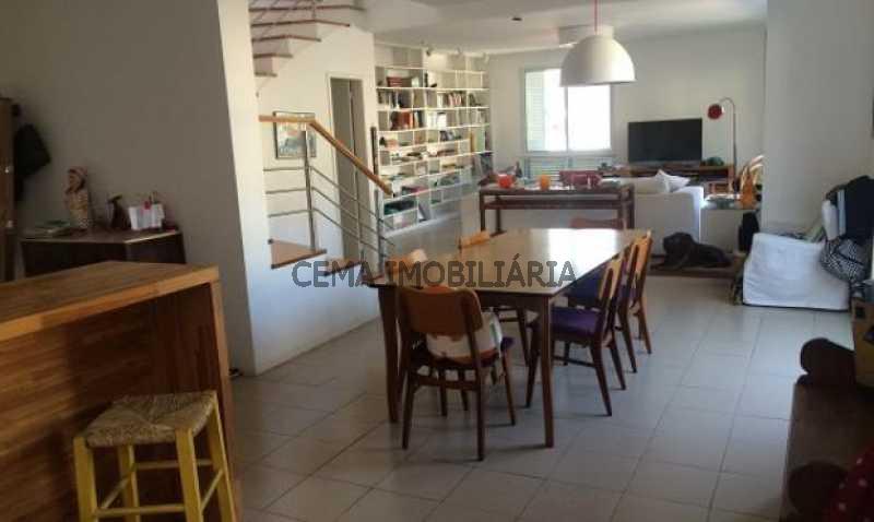 sala - Cobertura à venda Rua Belisário Távora,Laranjeiras, Zona Sul RJ - R$ 2.500.000 - LACO40030 - 3