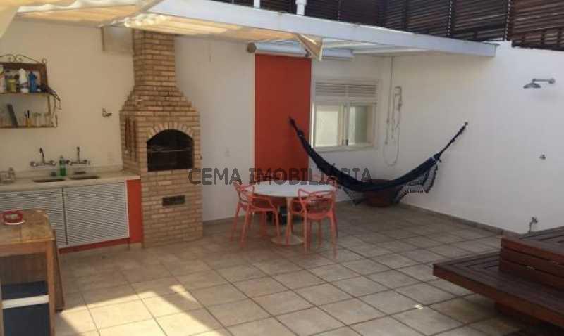terraço - Cobertura à venda Rua Belisário Távora,Laranjeiras, Zona Sul RJ - R$ 2.500.000 - LACO40030 - 9