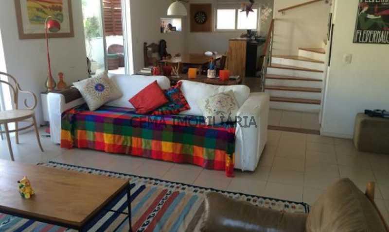 sala - Cobertura à venda Rua Belisário Távora,Laranjeiras, Zona Sul RJ - R$ 2.500.000 - LACO40030 - 4