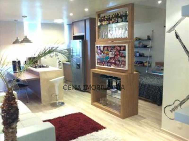 sala - Apartamento 1 quarto à venda Flamengo, Zona Sul RJ - R$ 515.000 - LAAP10648 - 4